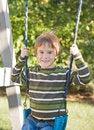 Free Boy Swinging Royalty Free Stock Photography - 5119727