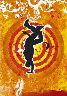 Free Dancer Royalty Free Stock Photos - 5110098
