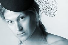 Free Woman With Veil Royalty Free Stock Image - 5110686
