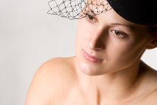 Free Woman With Veil Royalty Free Stock Photos - 5110698