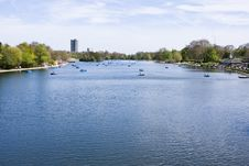 The Serpentine At Hyde Park Stock Photography