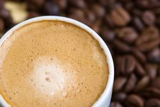 Free Cup Of Coffee Royalty Free Stock Photography - 5111967