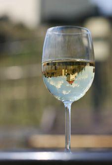 Free Glass Of White Wine Stock Photos - 5112073