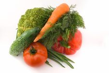 Free Group Of Vegetables 2 Royalty Free Stock Photo - 5113125