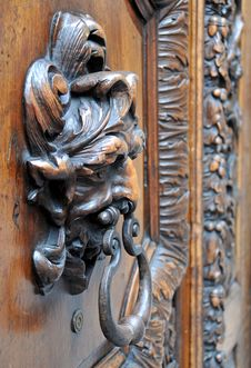 Free Door Knocker Stock Photography - 5113142