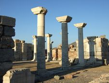 Column Of Ephesus Stock Image