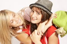 Free Teenager Girls Playing Stock Photo - 5113460