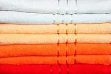 Free Towels Warm Stock Photography - 5113632
