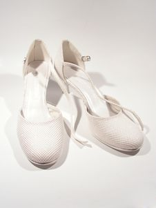 Free Isolated Shoes On White Stock Images - 5113964