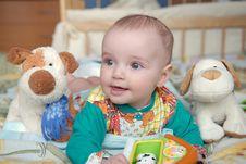 Free Beautiful Baby Portrait Stock Photo - 5114220
