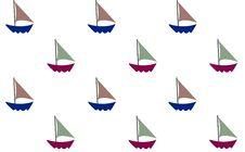 Free Sailboat  Wall Paper Stock Photography - 5115192
