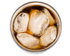Free Cold Fizzy Cola With Ice Royalty Free Stock Image - 5115226