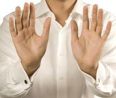 Free Open Men S Hands Stock Photos - 5115423