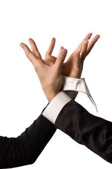 Free Hands Plexus Stock Photography - 5115632