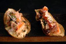 Free Salmon Chips Stock Photos - 5116263