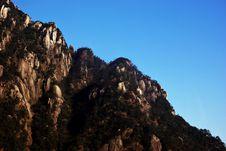 Free Huangshan Mountain Royalty Free Stock Photo - 5116645