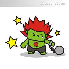 Free Illustration Character Stock Image - 5117181