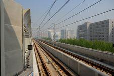 Free Shanghai Train Royalty Free Stock Photography - 5119117
