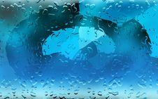 Free Aqua Water Drops Royalty Free Stock Images - 5119349