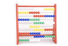 Free Abacus With Red, Yellow,blue,green Stock Images - 5119574