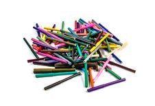 Free Markers Royalty Free Stock Image - 51132966
