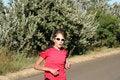 Free Female Athlete Stock Image - 5122261