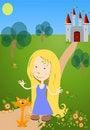 Free Little Girl Stock Photos - 5122873