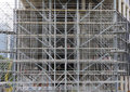 Free Scaffolding Made From Steel Tubes Royalty Free Stock Image - 5123576
