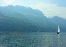 Free Sailboat On Garda Lake Royalty Free Stock Photography - 5120137