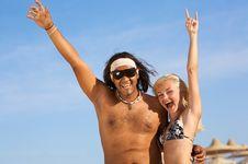 Free Multi-ethnic Couple Stock Photography - 5120212
