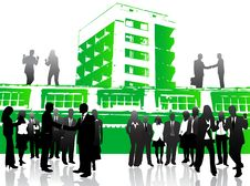 Free Business People And City Stock Photos - 5120253