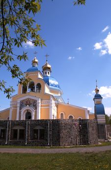 Free Church In Kiev Royalty Free Stock Photo - 5120705