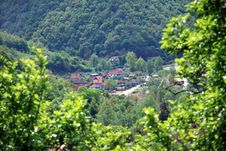 Free Village In Valley Stock Photo - 5121250