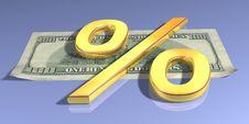 Free Gold Percent Stock Photo - 5123500