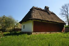 Free Old Traditional Ukrainian House Stock Images - 5123574