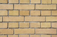 Free Yellow Brick Wall Background / Texture Stock Photography - 5123862