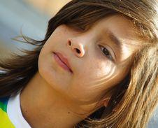 Free Child Headshot Stock Images - 5124074