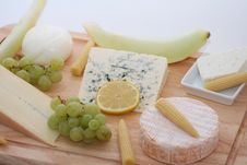 Free Cheeseplate Royalty Free Stock Image - 5125726
