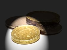 Free UK Coins Royalty Free Stock Photos - 5126238