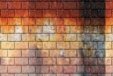 Free Grunge Brick Wall Background Stock Images - 5127524