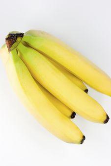 Free Fresh Bananas Stock Photography - 5128182