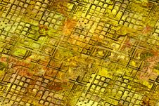 Free Abstract Grunge Gold Background Royalty Free Stock Photo - 5128205