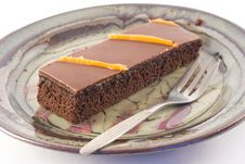 Free Chocolate Cake Stock Image - 5128351
