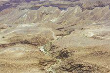 Free Judean Desert Royalty Free Stock Photography - 5128837