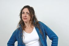 Free Attractive Middle-aged Woman. Royalty Free Stock Photography - 5129647