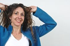 Free Attractive Middle-aged Woman. Royalty Free Stock Photo - 5129865