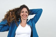 Free Attractive Middle-aged Woman. Royalty Free Stock Photography - 5129887