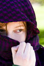 Free Hidden Woman On Veil Stock Images - 5136014
