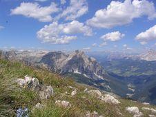 Free Dolomites Panorama Stock Image - 5130121