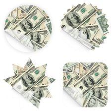 Free Money Retail Stickers Stock Photos - 5130273
